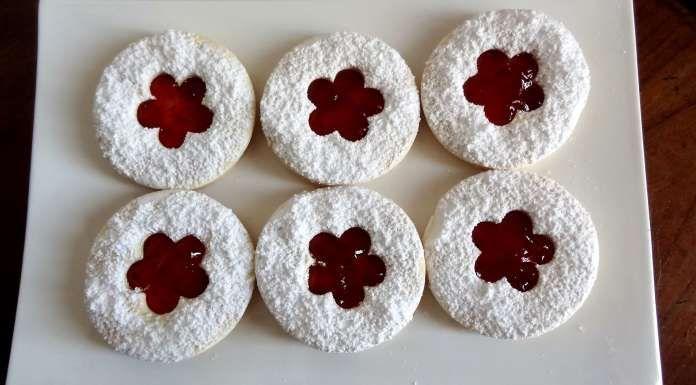 Biscuits sans gluten ni lactose à la confiture - La Tendresse En Cuisine