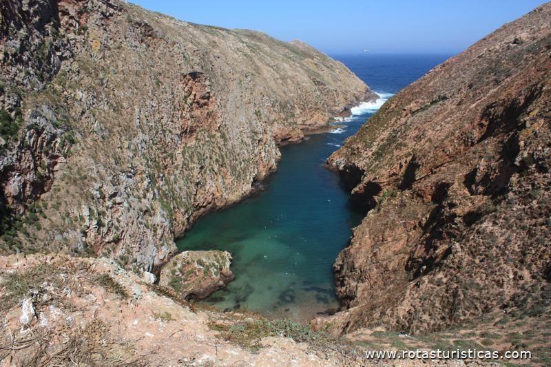 Vista da Ilha das Berlengas - Peniche