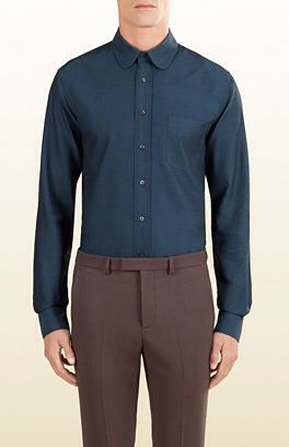 68ad8866f0ab Col chemise homme (Gucci)   Col chemise homme   Pinterest   Chemise ...
