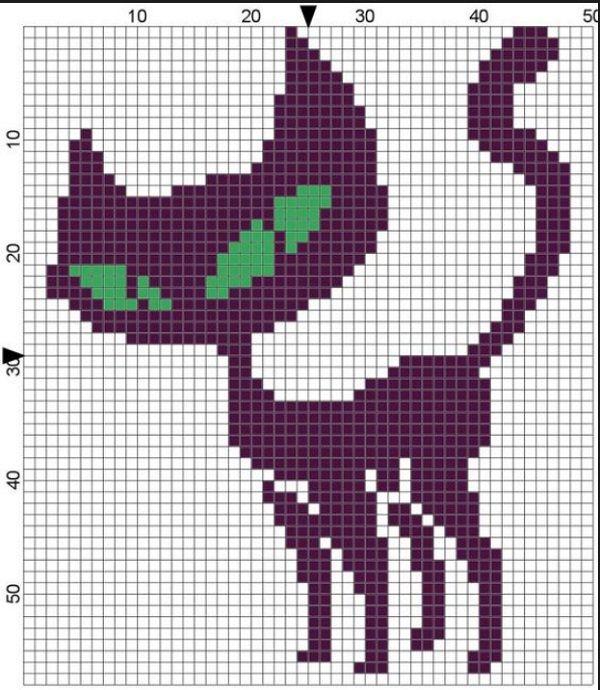 Картинки кошки для вязания