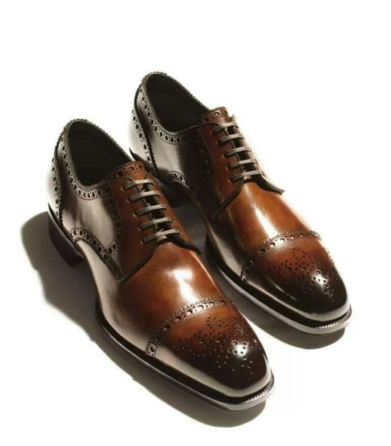 Tom Ford Cap Toe Oxford