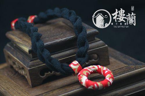 Envío gratis Loulan original estilo chino hechos a mano la flor vintage femenino del diseño corto personalizado collar x1246 en Collares de Joyería en AliExpress.com | Alibaba Group