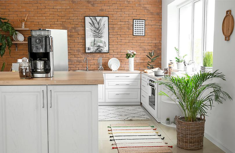 Sciana Nad Blatem Kuchennym 5 Pomyslow Na Jej Wykonczenie Portal Marki Magnat Home Decor Kitchen Cabinets Kitchen