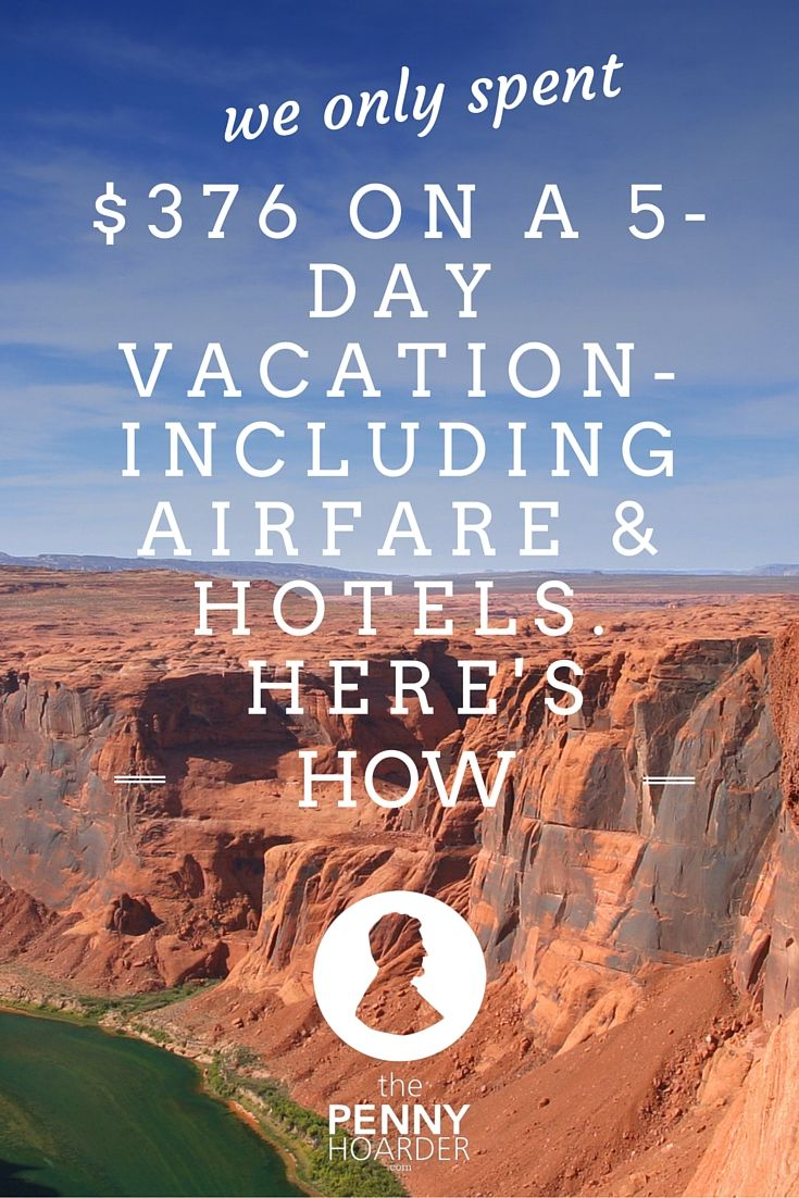 Trying to travel on a budget? One couple managed to take a five-day vacation in Colorado -- including airfare from Florida -- for only $376. Here are the travel hacks they used to make it happen - The Penny Hoarder  http://www.thepennyhoarder.com/cheap-vacation-travel-hacks/