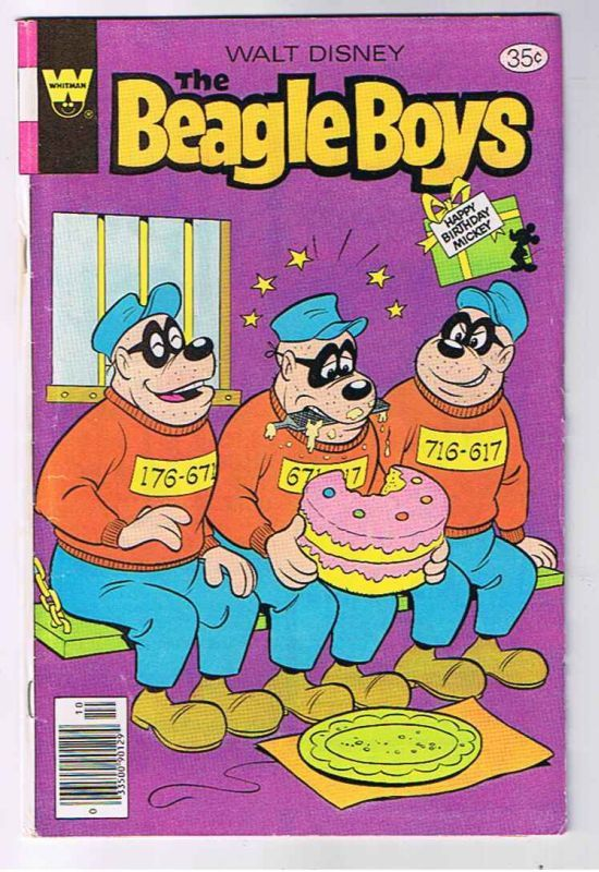 Gold Key Comics Beagle Boys Cartoon Vintage Comic Books Comic