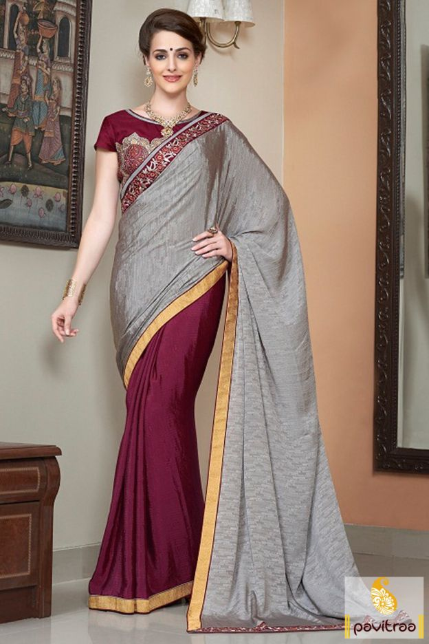 Make the extra great sparks with grey and maroon festival saree with online discount. It is delightful with nice blouse pattern. Purchase it with online offer. #partywearsaree, #netsaree, #onlinesareeshopping, #embroiderysaree, #discountoffer, #georgettesaree, #bollywoodsaree, #actressstylesaree, #pavitraafashion, #utsavsaree, #printedsaree, #fastivalpartysaree http://www.pavitraa.in/store/party-wear-saree/ callus:917698234040