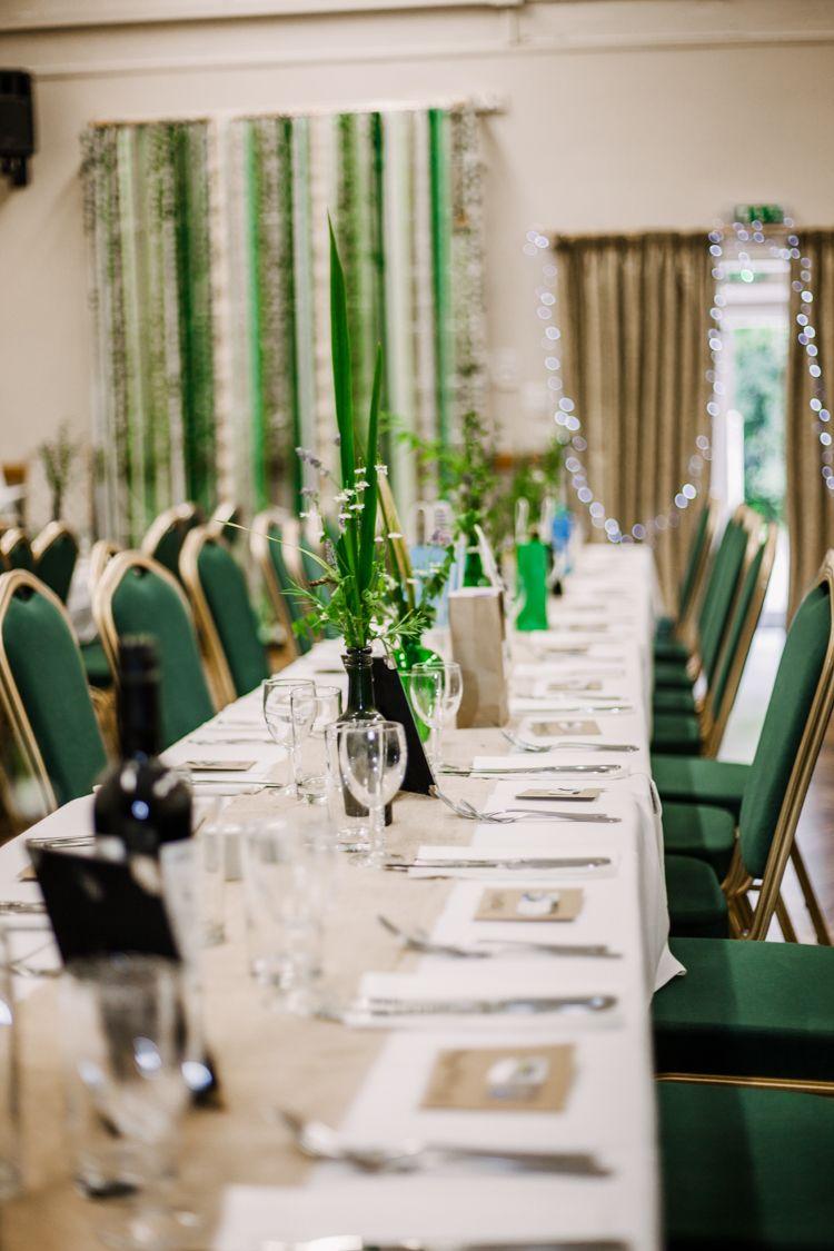 Decor Tables Ribbon Curtain Green Fun Diy Wedding New Walk Museum Leicester Https