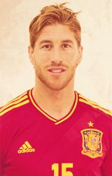 pure love work in a dirty way. Sergio Ramos