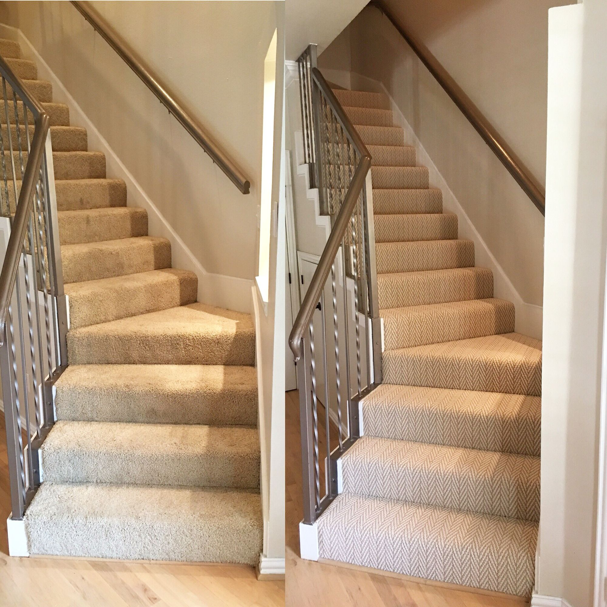 New Carpet On My Staircase Before And After What A