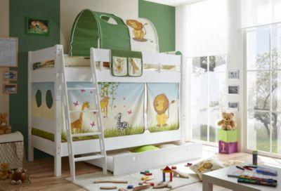 Massivum Kinderbett Safari / Vorhang Safari 3-teilig 100% Baumwolle Stoffvorhang ... / See more ...