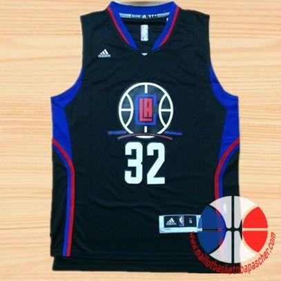 maillot basket nba Los Angeles Clippers Griffin #32 Noir nouveaux tissu