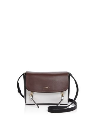 DKNY Greenwich Color Block Mini Flap Crossbody