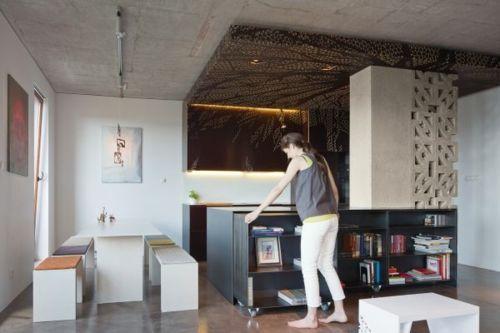 AuBergewohnlich Platzsparende, Klappbare Möbel Für Die Kleine Wohnung   #Möbel
