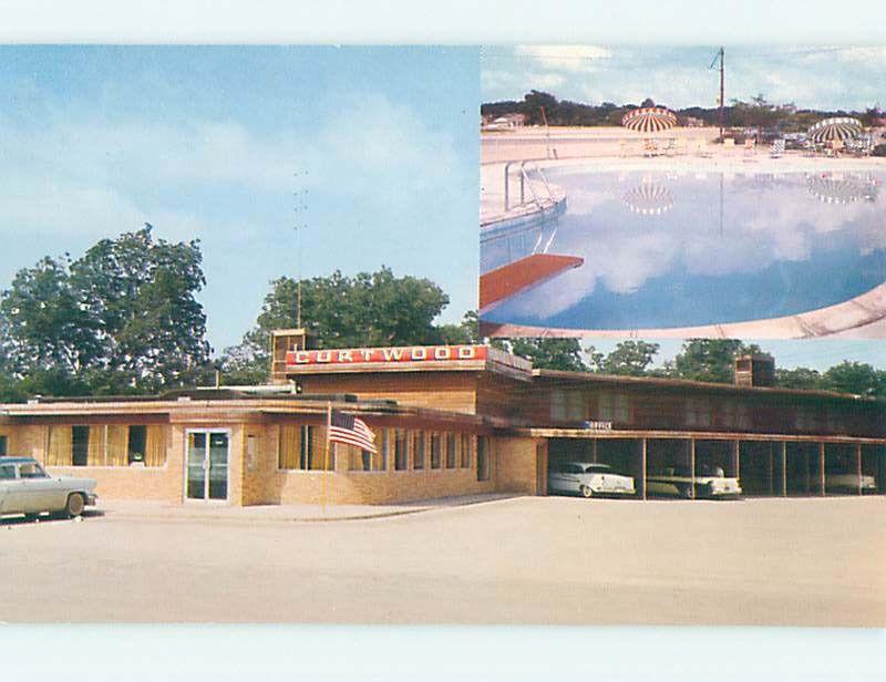 Unused Pre 1980 Curtwood Motel Restaurant Gainesville Tx M3867