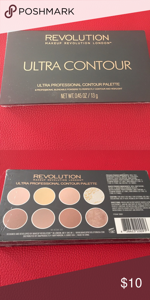 New Makeup Revolution London Palette New