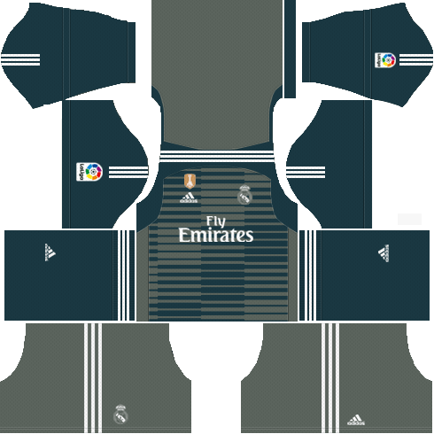 Real Madrid Goalkeeper Third Kit 2018 19 Dream League Soccer Kits Real Madrid Kit Real Madrid Home Kit Real Madrid Goalkeeper