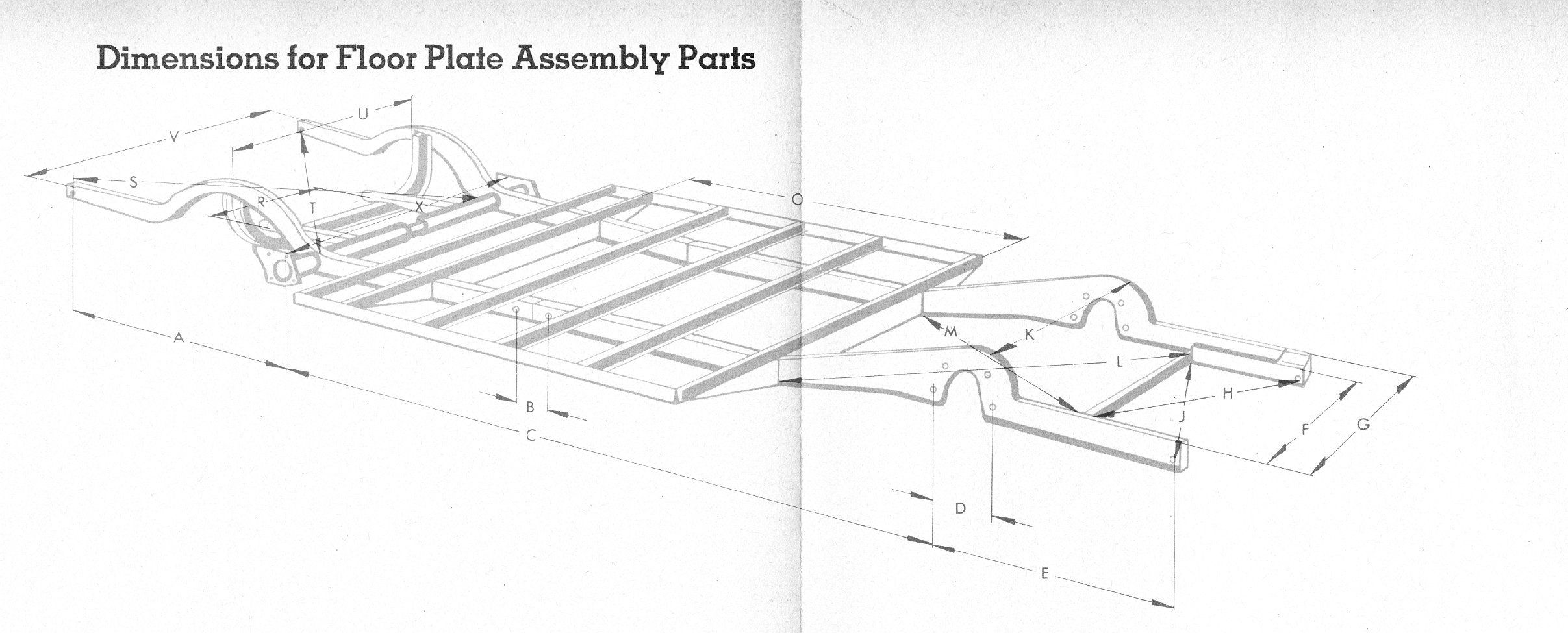 T1 vw utility publishers technical discussions vw type 2 chassis dimensions