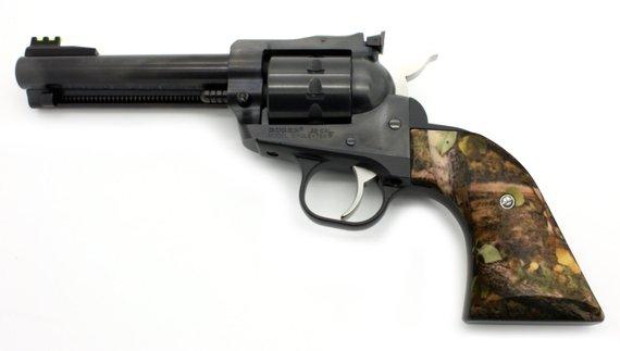 Elk Camp Camo Custom Ruger Revolver Grips - New & Old Model