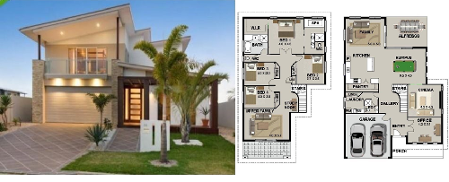 An Elegant Home Design Its Size Is Just Right For First Time Homeowners And Empty Nesters Houseplans Of House Plans For Sale House Design Bungalow Design
