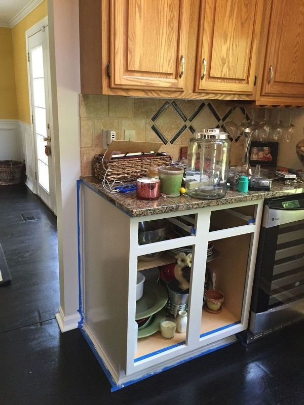 Take the plunge and DO it! This idea will make your kitchen so much ...