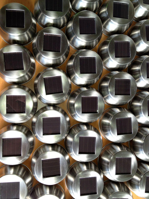 15 Lids Only - DIY  Solar Mason Jar Lights - Solar Ball Jar Light - Solar Mason jar. $120.00, via Etsy.