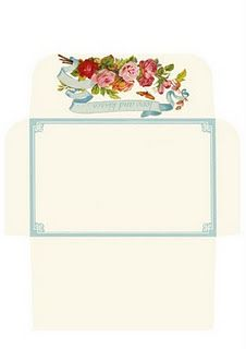 Make Your Own Rose Envelope  Printable Free Pdf Really Cute
