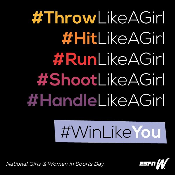 National Girls And Women In Sports Day Sports Quotes Sport Quotes Sports Day