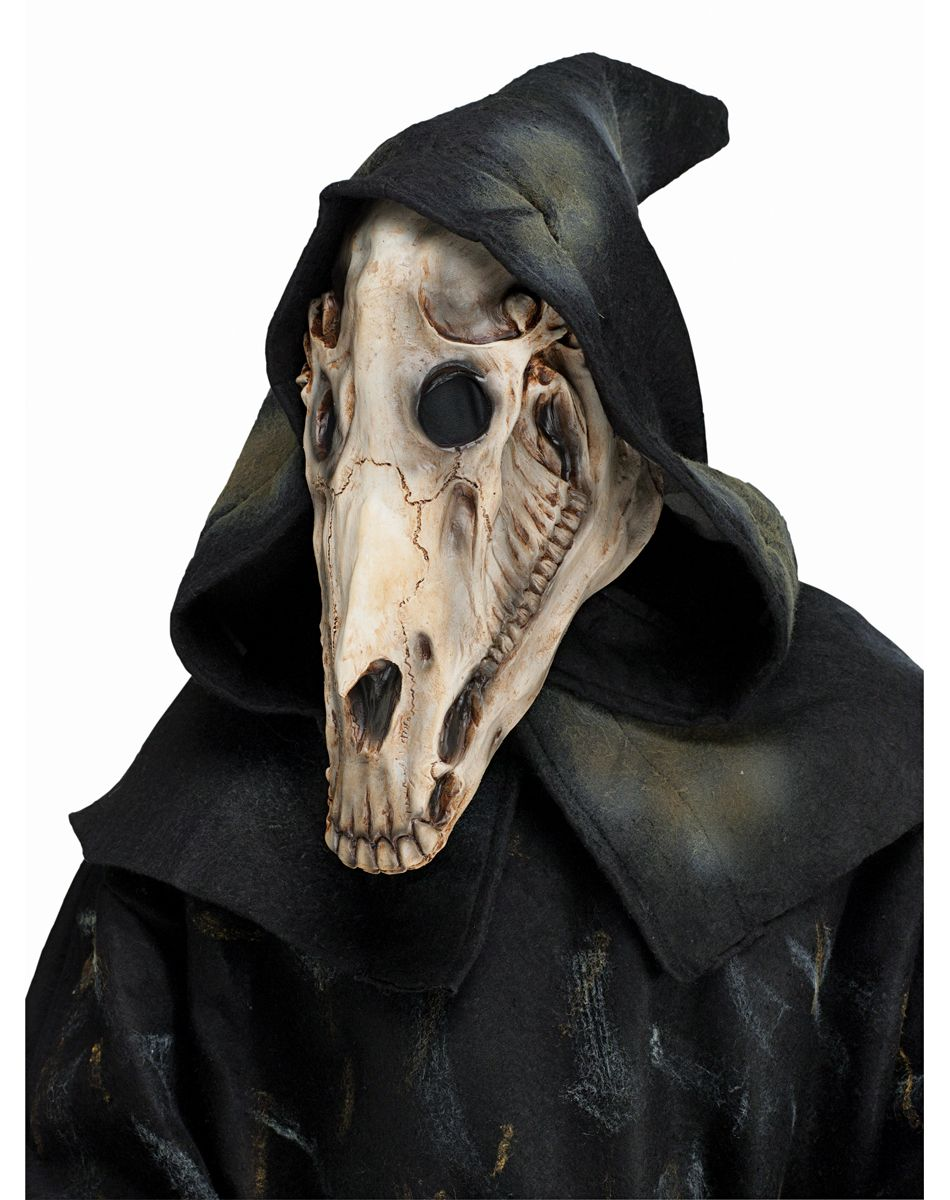 Hooded Horse Skull Mask – Spirit Halloween | Evil Pins | Pinterest ...