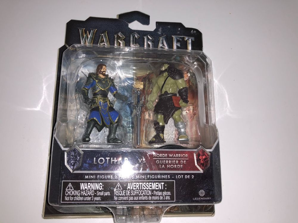 Warcraft LOTHAR V Warrior Figure