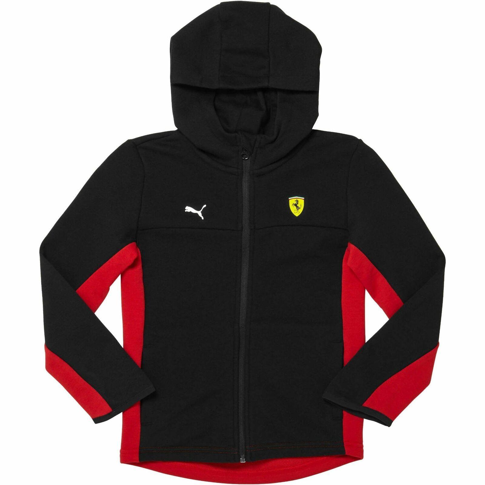 [57672002] Youth Puma Ferrari SF Kids Hooded Sweat Jacket