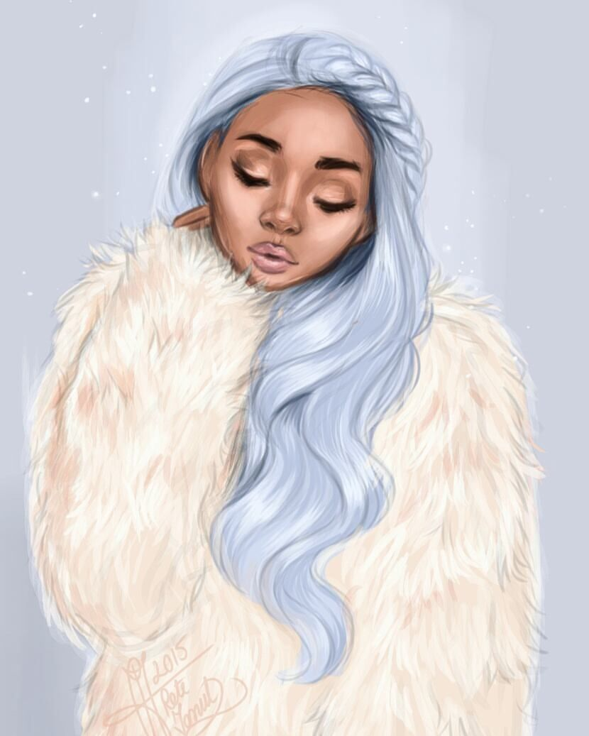Artistic Pinterest Girl Drawing