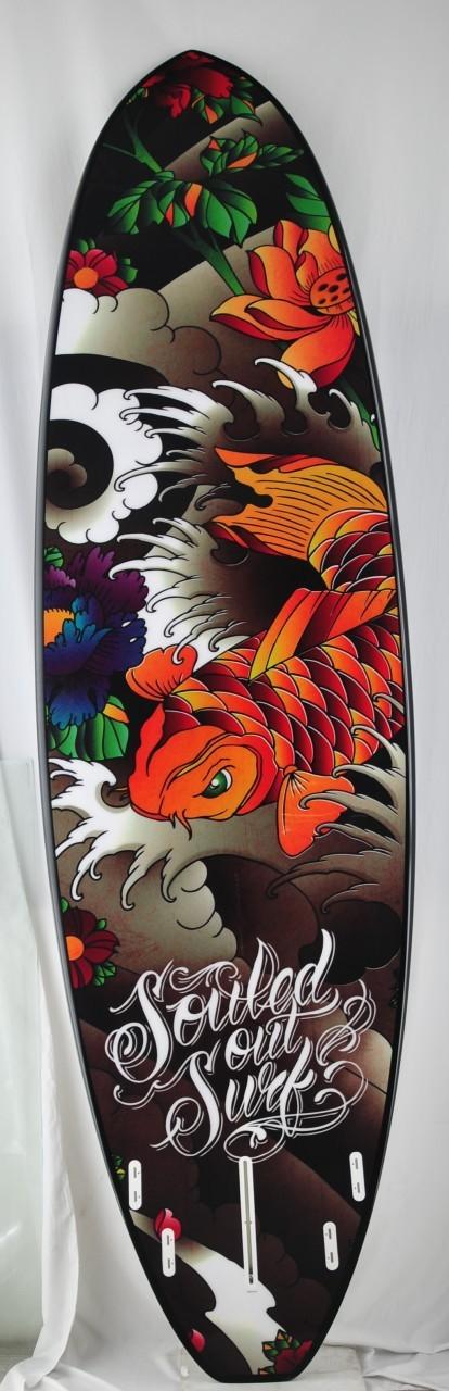10 X 30 X 4 3 8 Orange Koi Orange Koi Surf Pins Orange