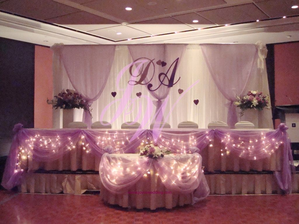 Pink And Purple Wedding Decorations White And Light Blue Wedding ...