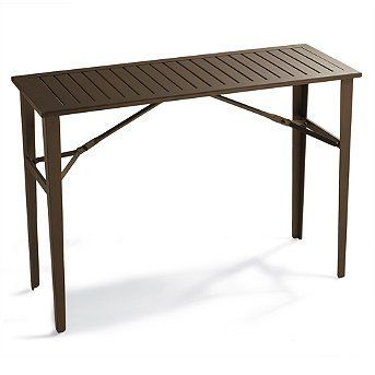 Folding Counter Height Table Frontgate Patio Furniture By