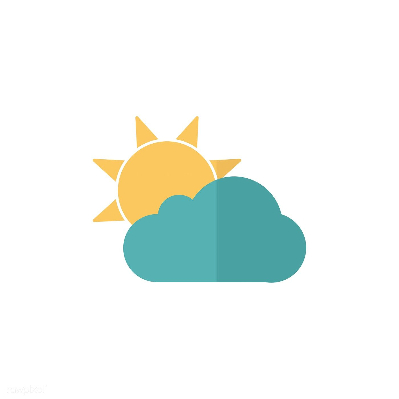 Illustration Of Weather Forecast Icon Free Image By Rawpixel Com In 2020 Illustration Free Illustrations Cute App
