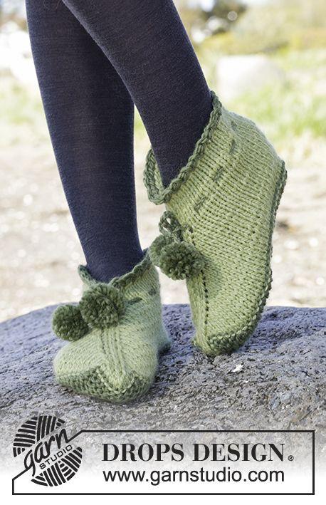 Free Pattern | calzini e scarpe lana | Pinterest | Zapatillas ...