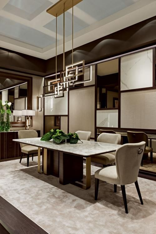 Symphony In Beige Beige Dining Room Luxury Dining Room Marble