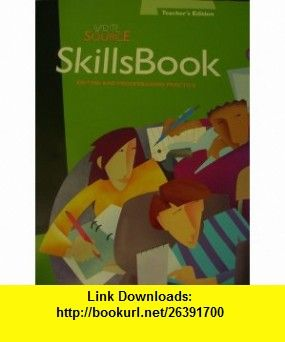 Write Source Skills Book Editing and Proofreading Practice