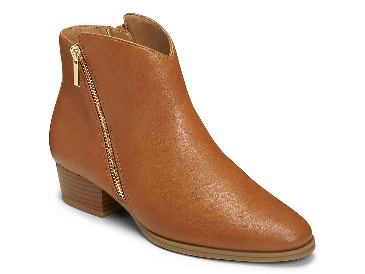 f231a20630b A2 BY AEROSOLES Cross Over Bootie in Cognac, Size 8.5W | DSW | Boots ...