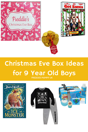 Make Your Own Christmas Eve Box - Ideas For 9 Year Old Boys   Christmas eve box, Christmas gifts ...