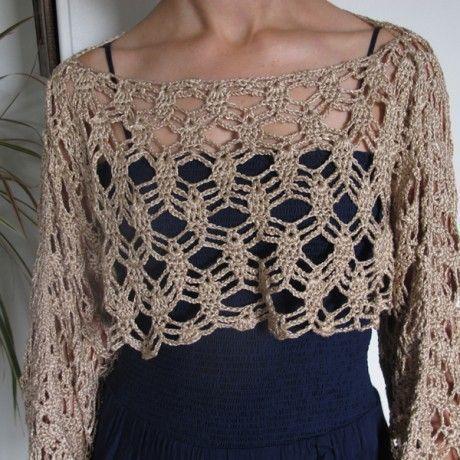 Photo of – Häkeln und stricken – #Bolero #Knitting #BoleroKnitting