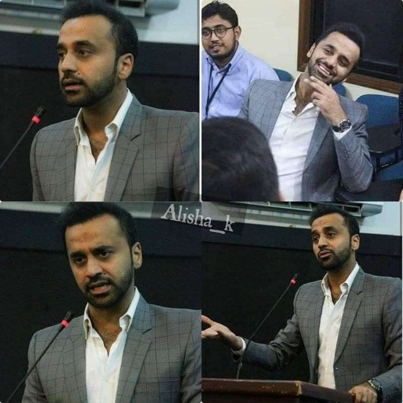 Wb at my sister's University SZABIST | waseem badami❤️ in