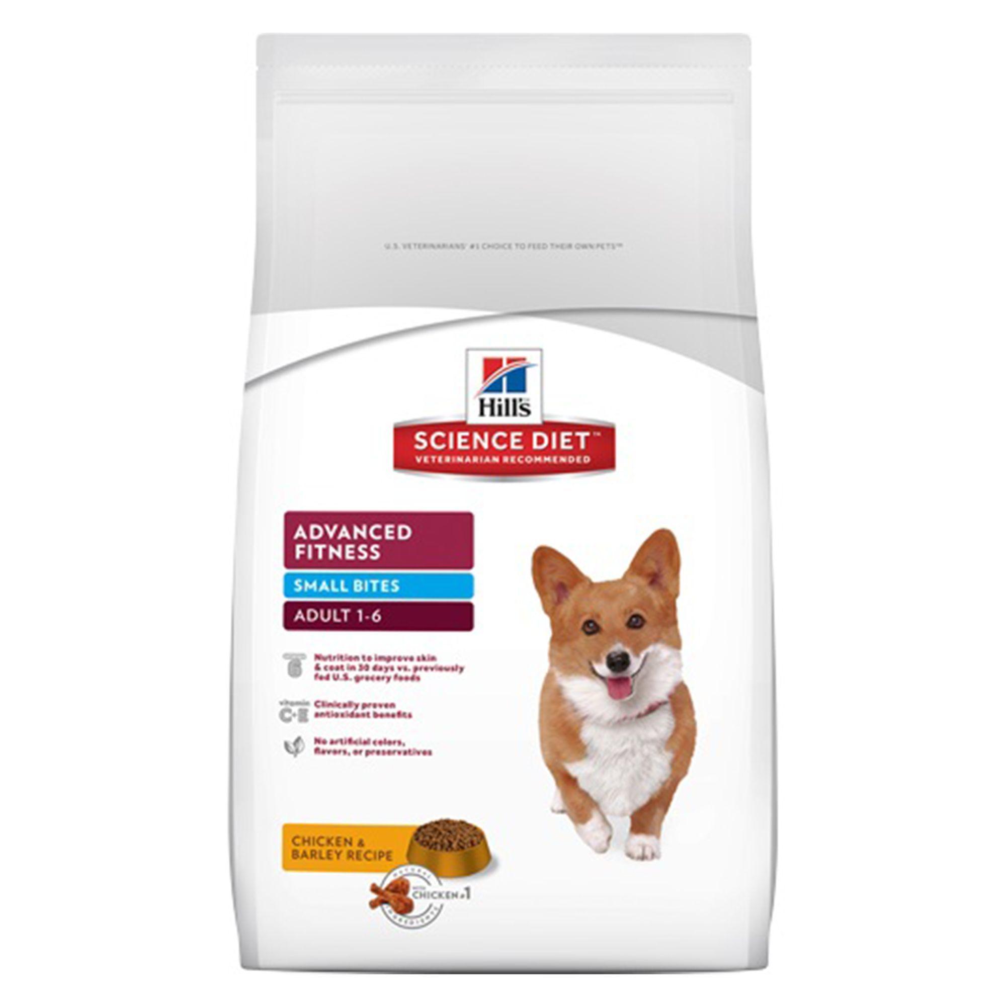 Hill S Science Diet Advanced Fitness Small Bites Adult Dog Food