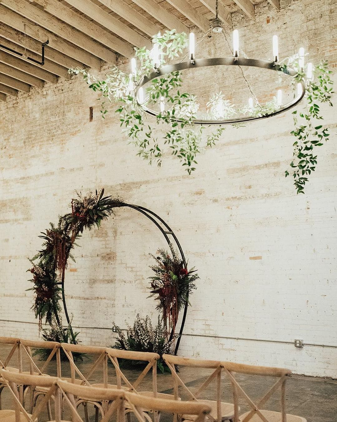 Alternative Wedding Arch Rentals In Dallas Fort Worth Moody Romantic Wedding Ceremony Ideas Brake Warehouse Wedding Warehouse Wedding Venue Wedding Venues
