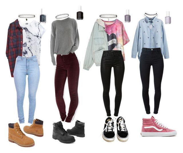 90s grunge school outfits polyvore pinterest tenue tenues et v tements. Black Bedroom Furniture Sets. Home Design Ideas
