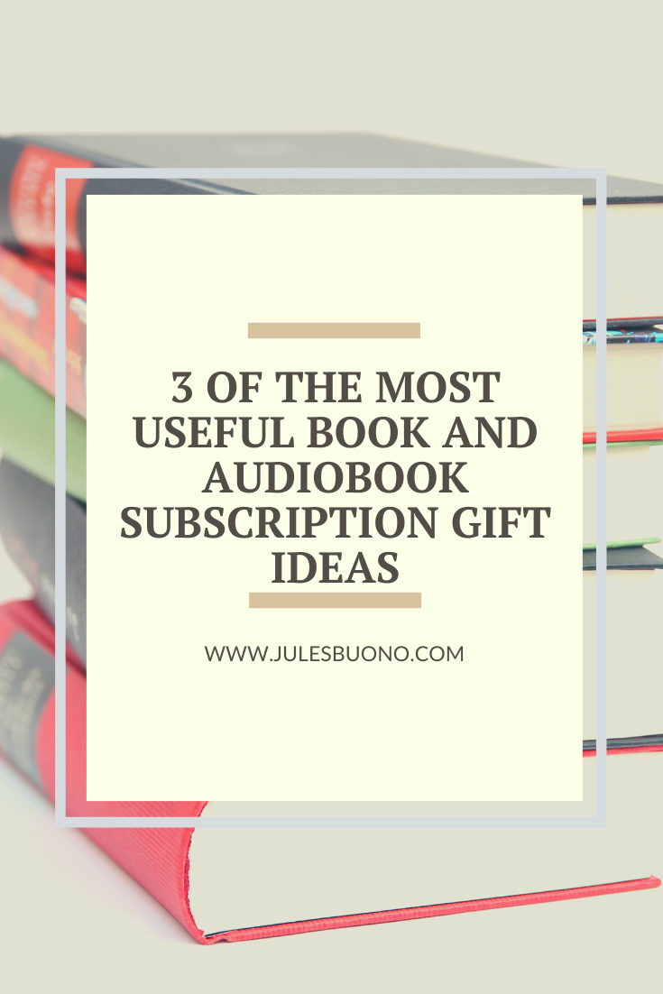 The 3 Best Book And Audiobook Subscription Gifts Audio Books Book Blogger Good Books