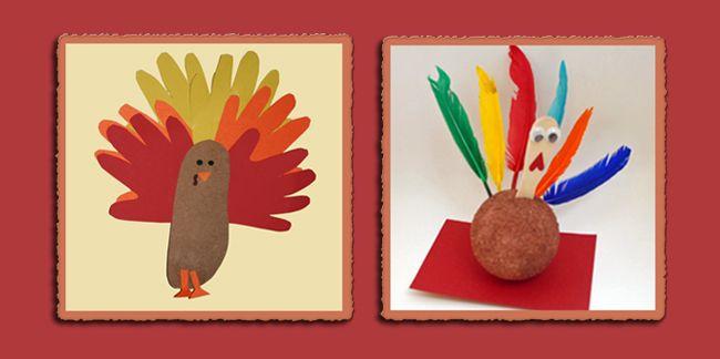 preschool turkey thanksgiving art projects baby shower pinterest