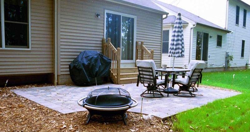 backyard patio ideas for small spaces   patio design pictures ... - Patio Paver Ideas