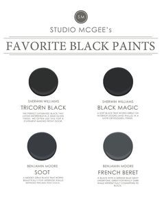 Most Por Black Paint Colors Sherwin Williams Tricorn Saturated Color Great