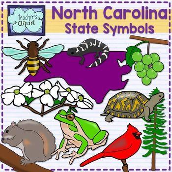 North Carolina State Symbols Clipart North Carolina And Symbols